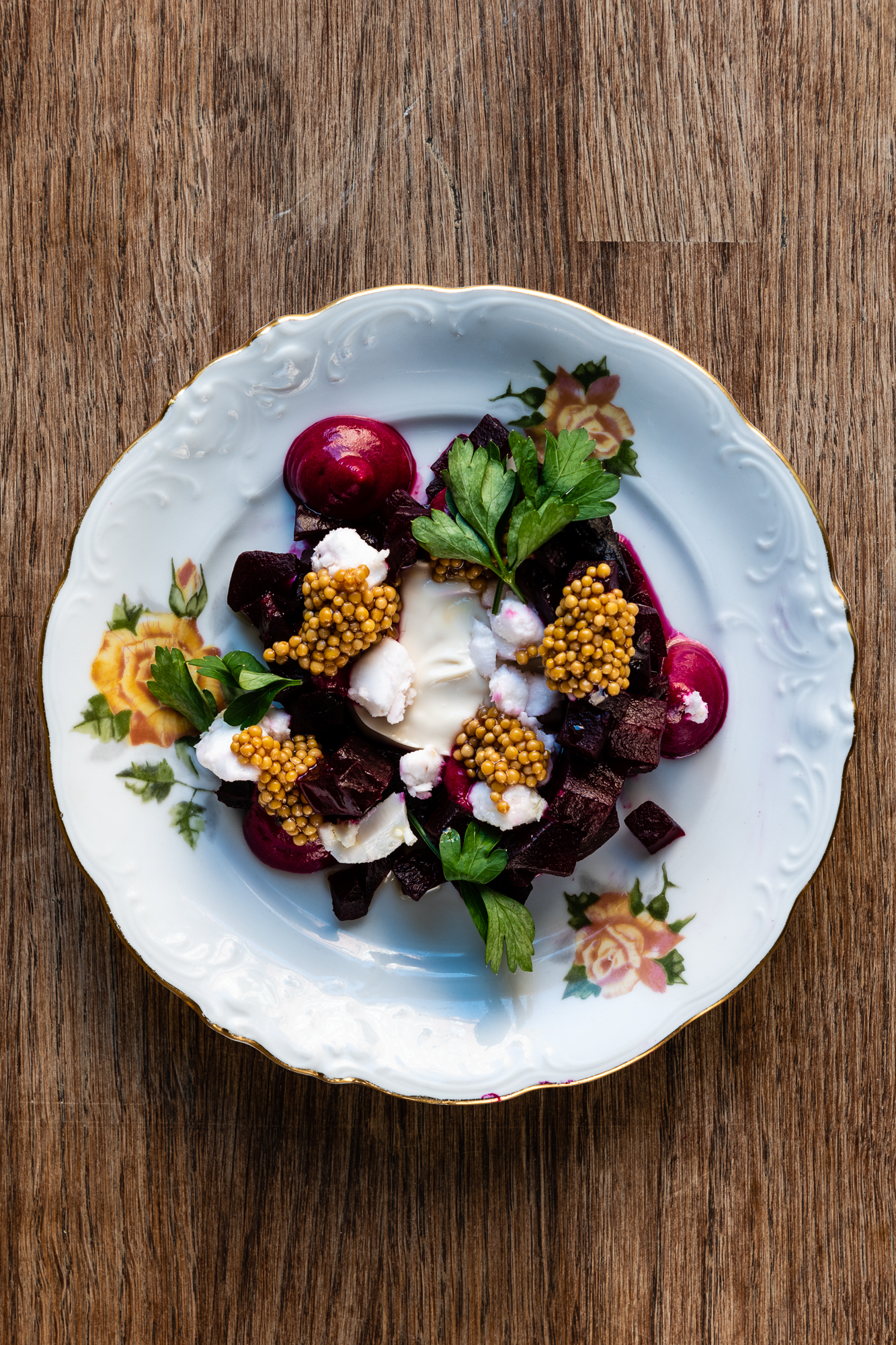 Beetroot and Mustard Seed